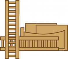 解体可能な家具などは分解していただけると低料金でサービスします。
